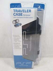 Official Sony PlayStation Portable PSP Hard Shell Traveler Case Brand New