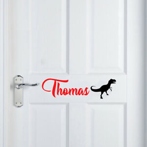 Custom name personalised vinyl sticker decal for home wall  door