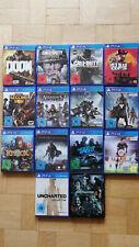 PS4 Spielesammlung - 14 Spiele