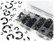 300pc E Clip Eclip Retaining Ring Assortment Radial External Shop Garage W/ Case
