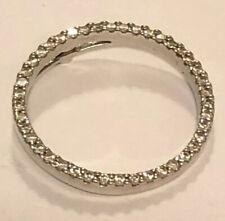 ROBERTO COIN 18K White Gold Diamond Circle of Life Pendant