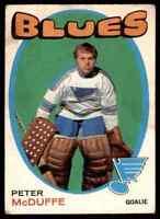 1971-72 O-Pee-Chee Peter McDuffe Rookie #225