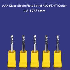 2 Éléments 1//8 Individuelles Flûte Fraise en Spirale Carbure CNC à Queue Outil