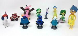 Disney Store Inside Out Figurines Bundle  (11 Figures)