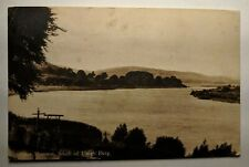 Vintage River Shannon Lough Derg to Dublin Ireland Real Picture Postcard Cover