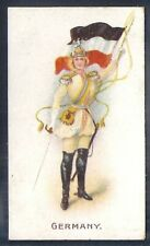 Wills Other Overseas-Flag Girls Of All Nations- Germany