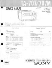 Sony Original Service Manual für TA-707/M