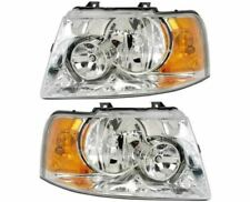 National Rv Dolphin 2006 2007 2008 Pair Headlights Head Lights Lamps Front Rv