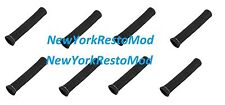 Spark Plug Wire Heat Shield Protector Insulators 1200 Degree 8pcs Chevy BLACK