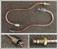 FORD ESCORT and CAPRI M16 CALIPER to STRUT BRAKE PIPES (2 Total) AUTOMEC COPPER