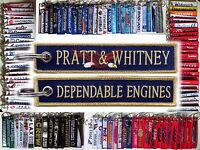 Keyring PRATT & WHITNEY Canada Dependable Engines tag keychain