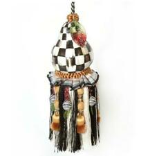 MacKenzie-Childs Courtly Check Pear Tassel