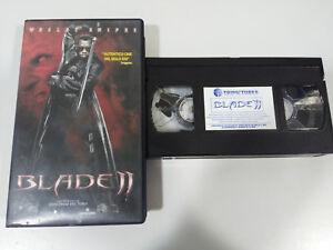 BLADE II Wesley Snipes Guillermo del Toro VHS Nastro Castellano - 2T