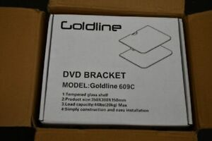Goldline 609C DVD brackets Wall Mount, DVD Wall Shelf