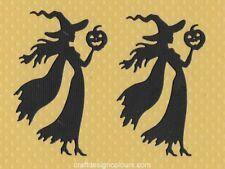 DIE CUTS - WITCH AND PUMPKIN