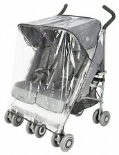 NEW Rain Sheild For Maclaren Twin Triumph and Twin Techno strollers OLD MODEL
