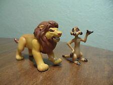 Disney's The Lion King Action Figures Lot of 2 Figures Simba & Timon