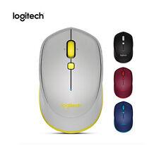 Logitech M337 Bluetooth 3.0 Ergonomic Wireless Mouse For Mac Windows Android