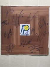 2018 Indiana Pacers Team Signed Autographed Floorboard Oladipo , Turner