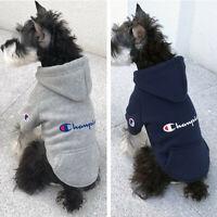 Brand NEW Pet Dog Coat Pet Cat Clothes Winter Sweatershirt Hoodie Jacket