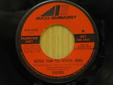 Disciple DJ 45 Better Than You mental song  bw same On Avco Embassy garage soul