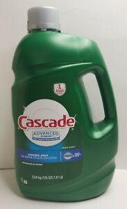 Cascade Advanced Power Dishwashing Detergent Fresh Scent with Dawn 125 oz NEW