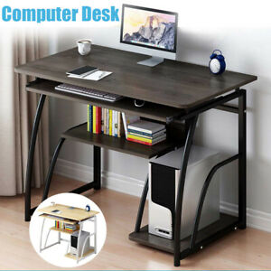 Space-saving Compact Bedroom Desk 70cm Sturdy Computer Desk for Home Office