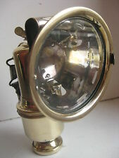"Antique German  BRASS CARBIDE ACETYLENE bicycle lamp ""Riemann"""