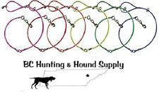 New 5' Cable Hunting Dog Tree Leads / Leashes (Heavy Duty Cables & Snaps)