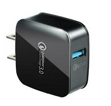 Universal Fast Quick Charge Qc 3.0 Usb Hub Wall Charger Us Plug+2 in 1 Cable