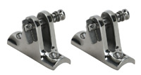 2 x Boat canopy Quick Release Rail Mount Clamp Boat Bimini Stainless Steel 316G