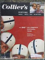 1955 December 9  Colliers Magazine  66th All-America Football Team  VINTAGE ADS