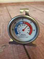 KITCHEN CRAFT Fridge & Freezer Thermometer with hanging hook