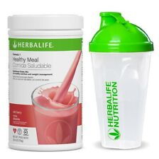 Herbalif Formula 1 Healthy Meal Nutritional Shake Mix Wild Berry and CUP