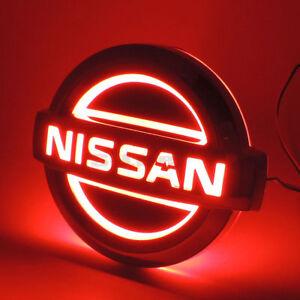 Modified Auto 5D LED Car Tail Logo Light Badge Emblem For Nissan LIVINA Cedric