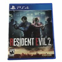Resident Evil 2 PlayStation 4 Brand New Factory Sealed