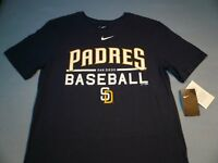 Nike San Diego Padres Baseball 1.7 Practice MEDIUM BRAND NEW shirt athletic cut
