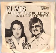 "J. D. Sumner ""Elvis Has Left The Building/Sweet, Sweet Spirit"" 45 RPM & PS, 1977"