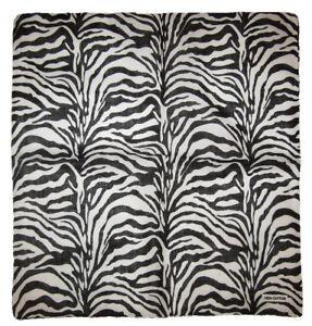 """Wholesale Lot of 12 Zebra Animal Print Pattern 100% Cotton 22""""x22"""" Bandana"""