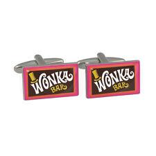 Retro Movie Chocolate Bar Cufflinks in Gift Box chocoholic Brand New