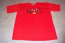 NYC New York City World Of Disney Mickey Mouse T-Shirt Youth XL 4 Boys Girls