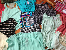 Wet Seal MIX Lot of 8- PULL OVERS,OFF SHOULDER,TANKS,BLOUSES FOREVER SZ MEDIUM