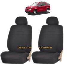 BLACK ELEGANCE AIRBAG COMPATIBLE LOWBACK SEAT COVER SET for PONTIAC G6 TORRENT