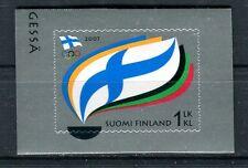 Finlandia /Finland 2007 Centenario comitato olimpico finlandese autoadesivo MNH