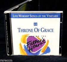 VINEYARD WORSHIP Throne Of Grace 1991 CD THE VIOLET BURNING RITA SPRINGER PRAISE
