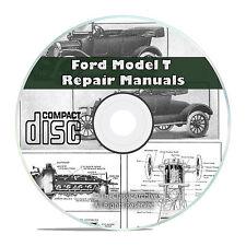 Classic Ford Model T Car Repair, Construction, Operation Manuals Books CD V48