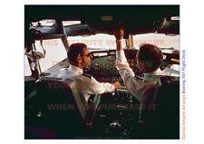 QANTAS BOEING 707 FLIGHT DECK A3 PICTURE POSTER IMAGE PRINT x