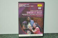 Samson et Dalila  Domingo/Boro Domingo DVD Region 0 Worldwide plus Signed