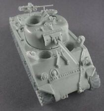 Milicast BA43 1/76 Resin WWII 75mm VVSS-British Sherman IV-50cal MG NOT included