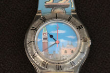 SWATCH SARAH SCHULTE WATCH VENICE SIMPLON & ORIENT EXPRESS LIMITED EDITION MULTI